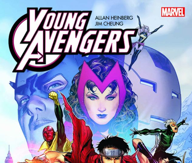 cover from Young Avengers by Allan Heinberg & Jim Cheung: The Childrens Crusade (2017)
