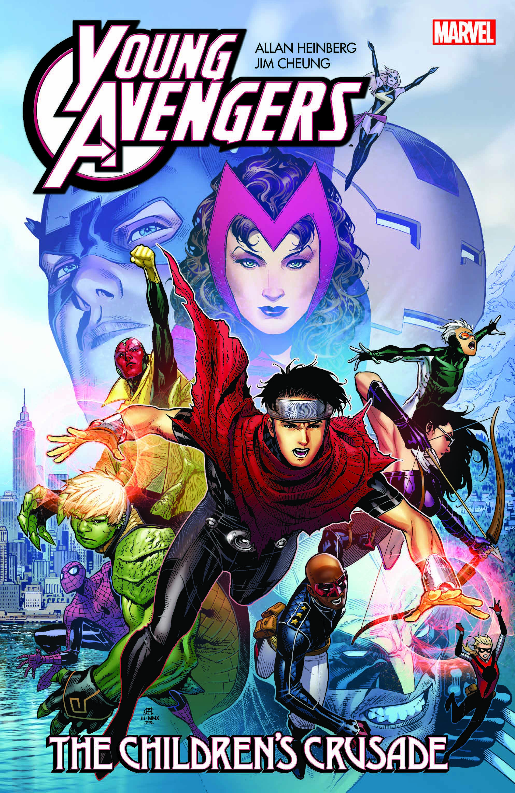 Young Avengers by Allan Heinberg & Jim Cheung: The Children's Crusade (Trade Paperback)