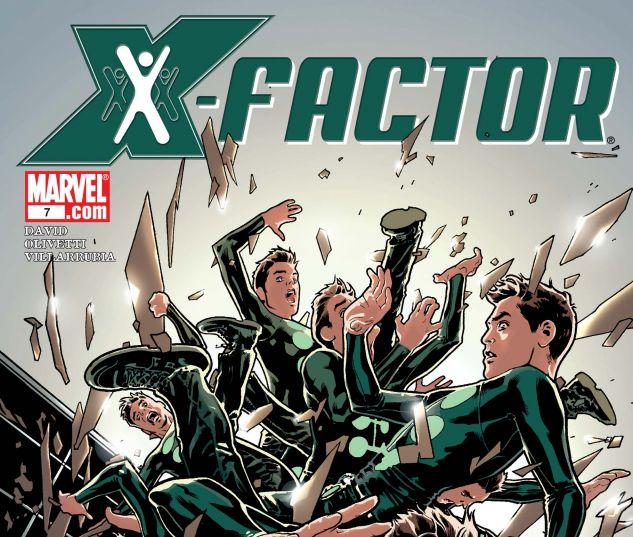 X-FACTOR (2005) #7