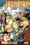 cover from Iron Man and Power Pack Infinite Comic (2017) #6