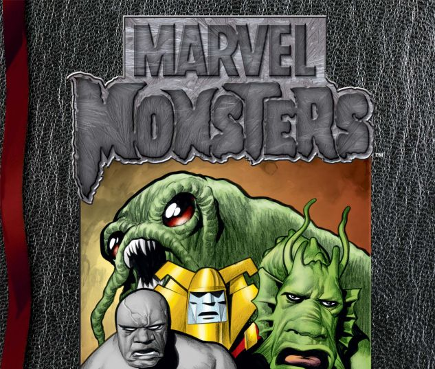 cover to Marvel Monsters: From the Files of Ulysses Bloodstone & the Monster Hunters (2005)