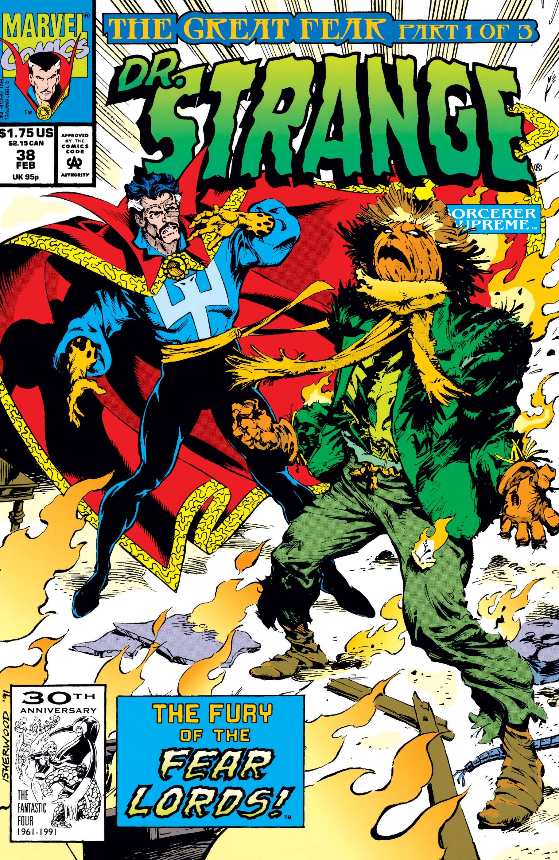 Doctor Strange, Sorcerer Supreme (1988) #38