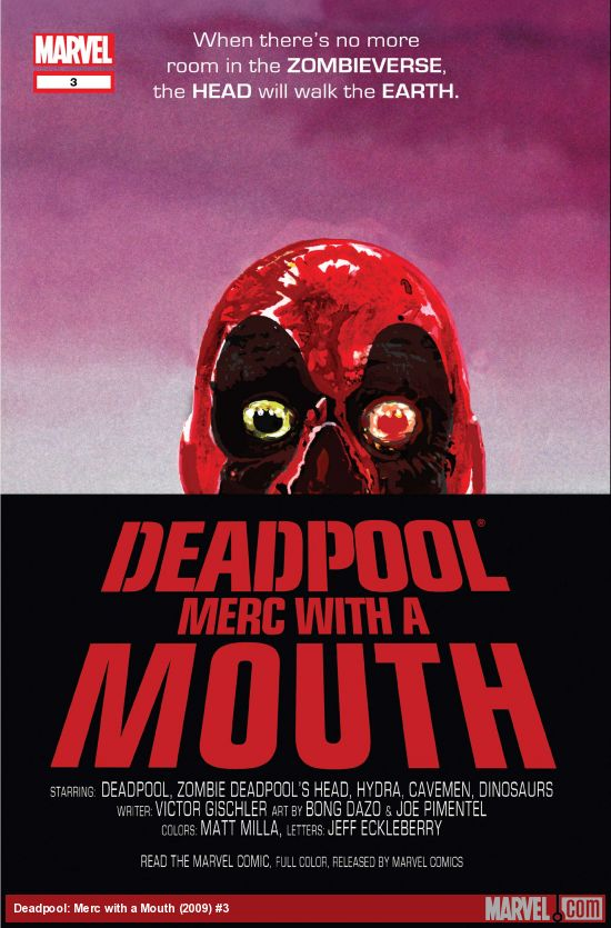 Deadpool: Merc with a Mouth (2009) #3