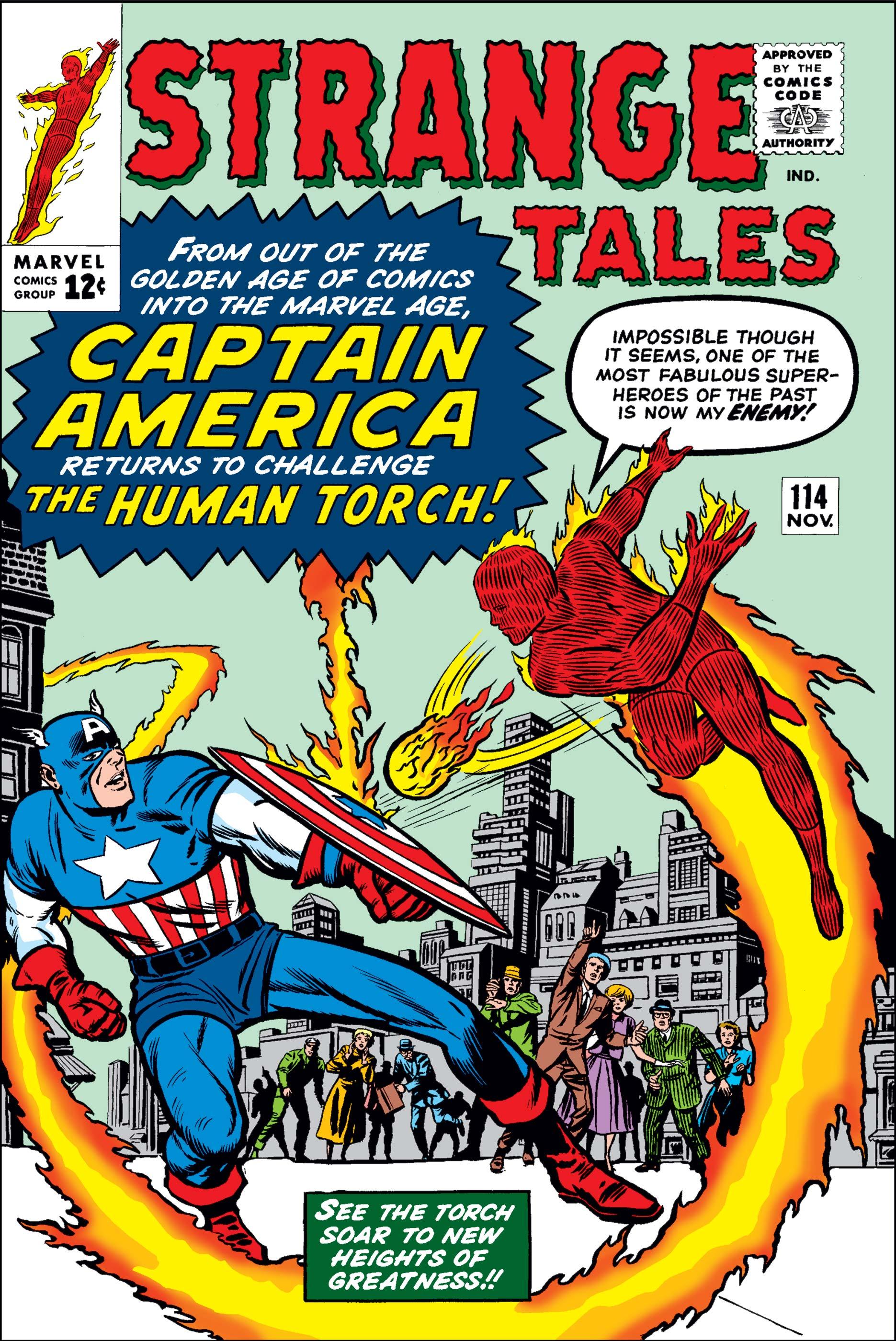 Strange Tales (1951) #114