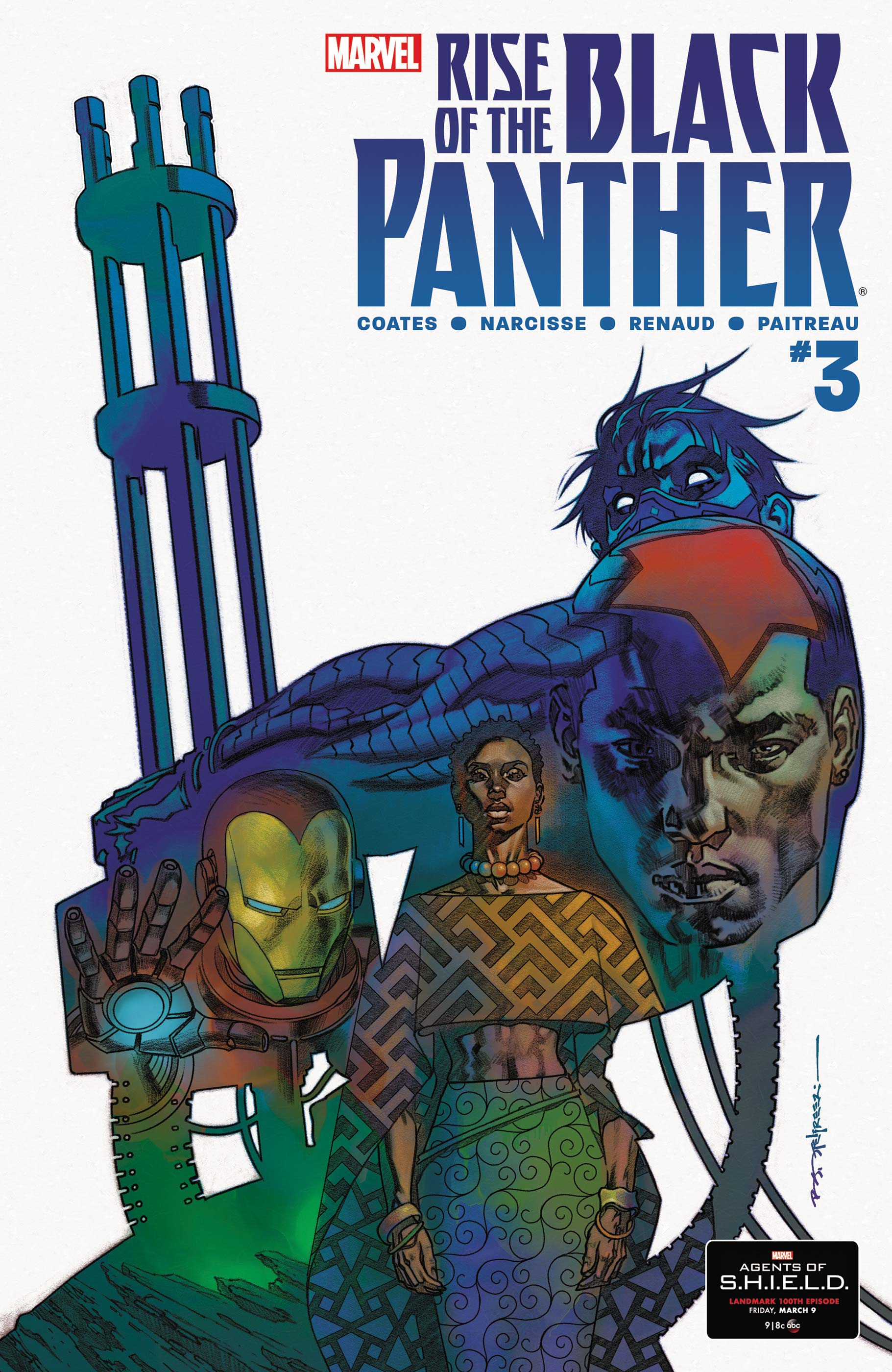 Rise of the Black Panther (2018) #3