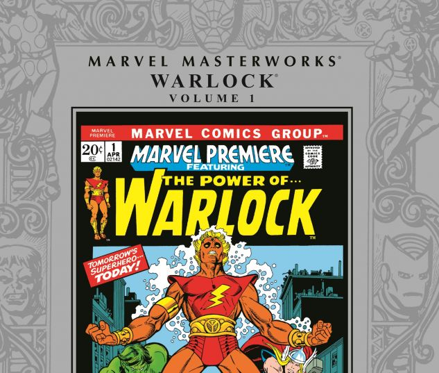 MARVEL MASTERWORKS: WARLOCK VOL. 0 cover