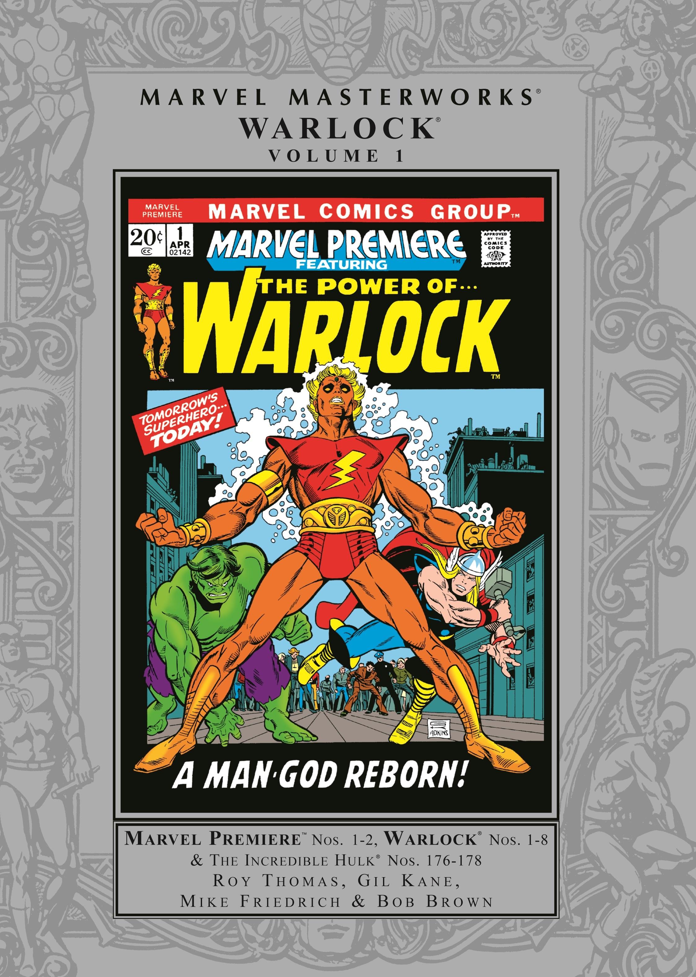 Marvel Masterworks: Warlock Vol. (Hardcover)