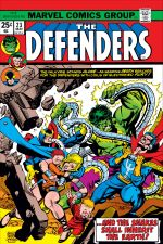 Defenders (1972) #23 cover