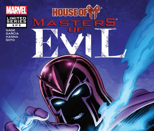 HOUSE OF M: MASTERS OF EVIL (2009) #4