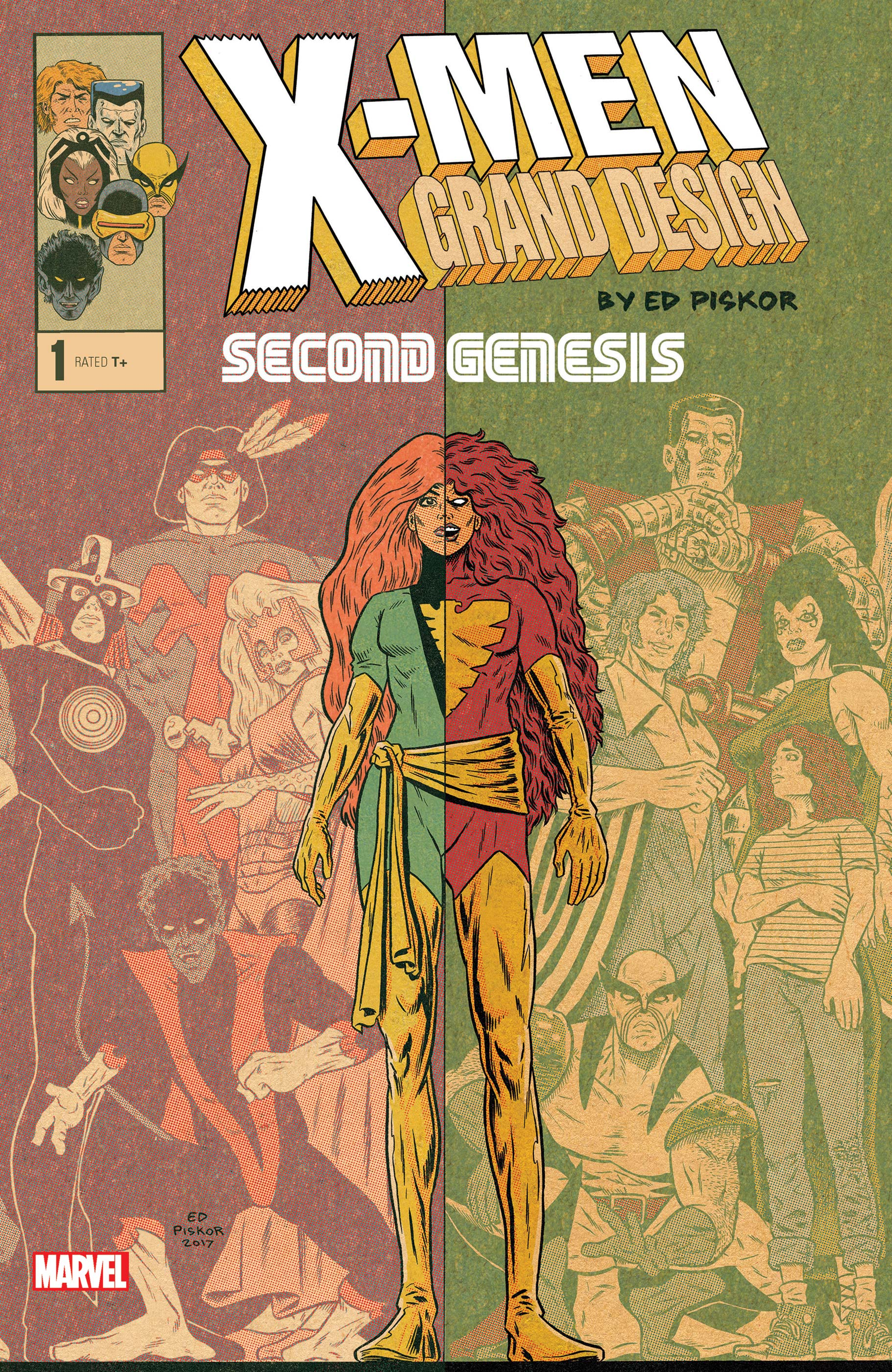X-Men: Grand Design - Second Genesis (2018) #1