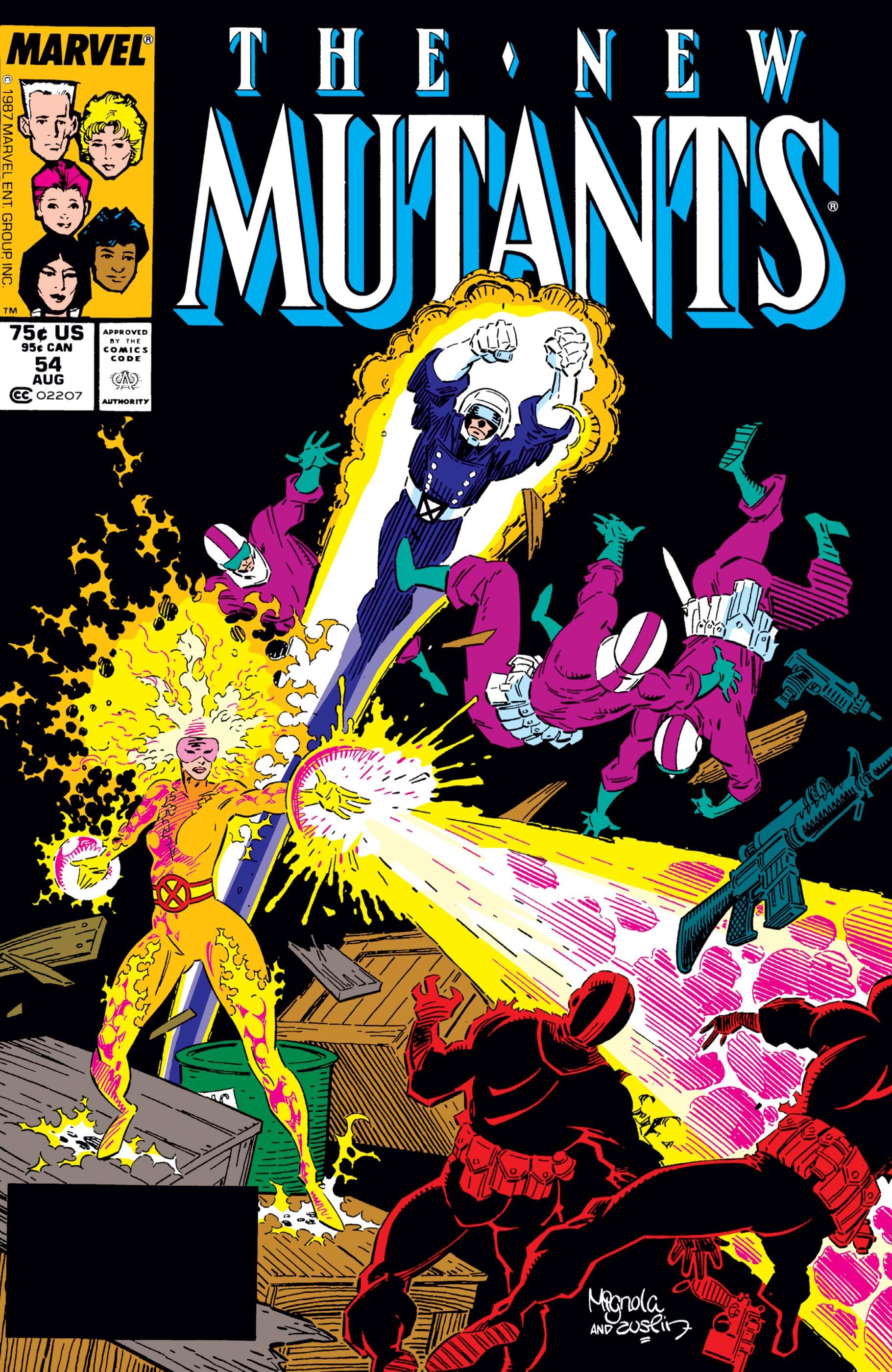 New Mutants (1983) #54