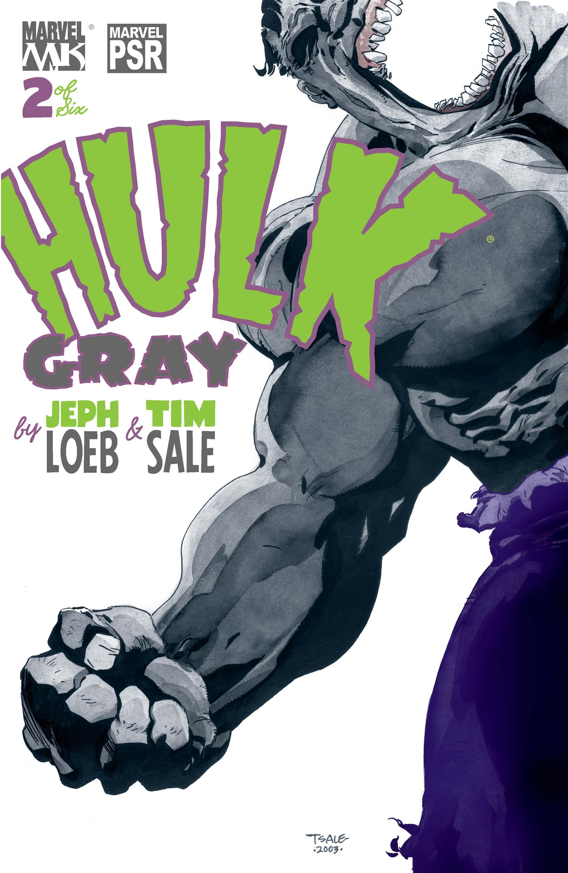 Hulk: Gray (2003) #2