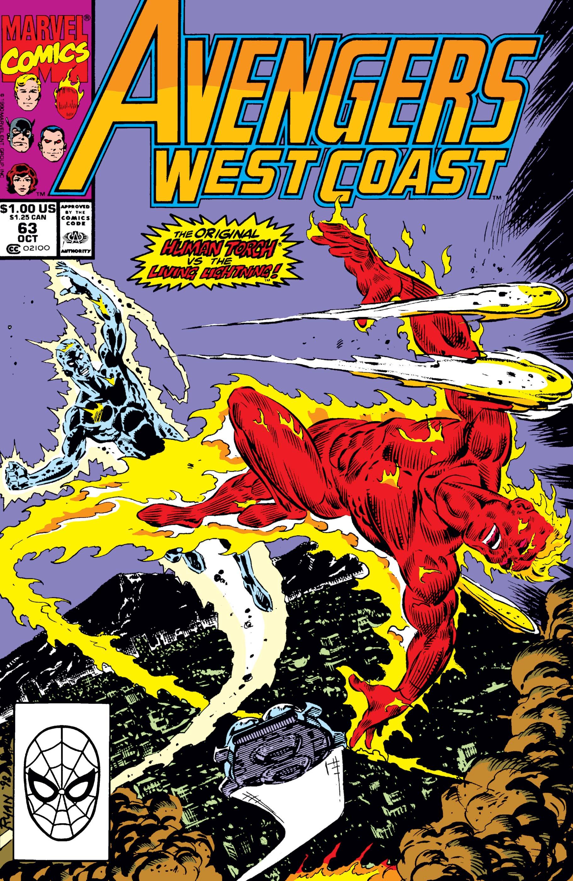 West Coast Avengers (1985) #63