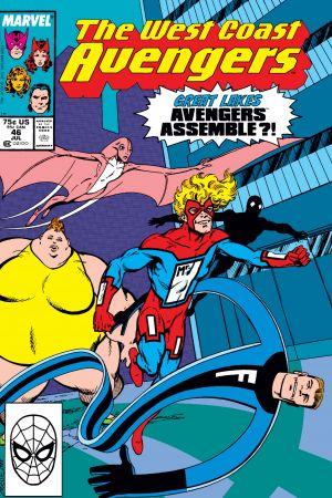 West Coast Avengers (1985) #46