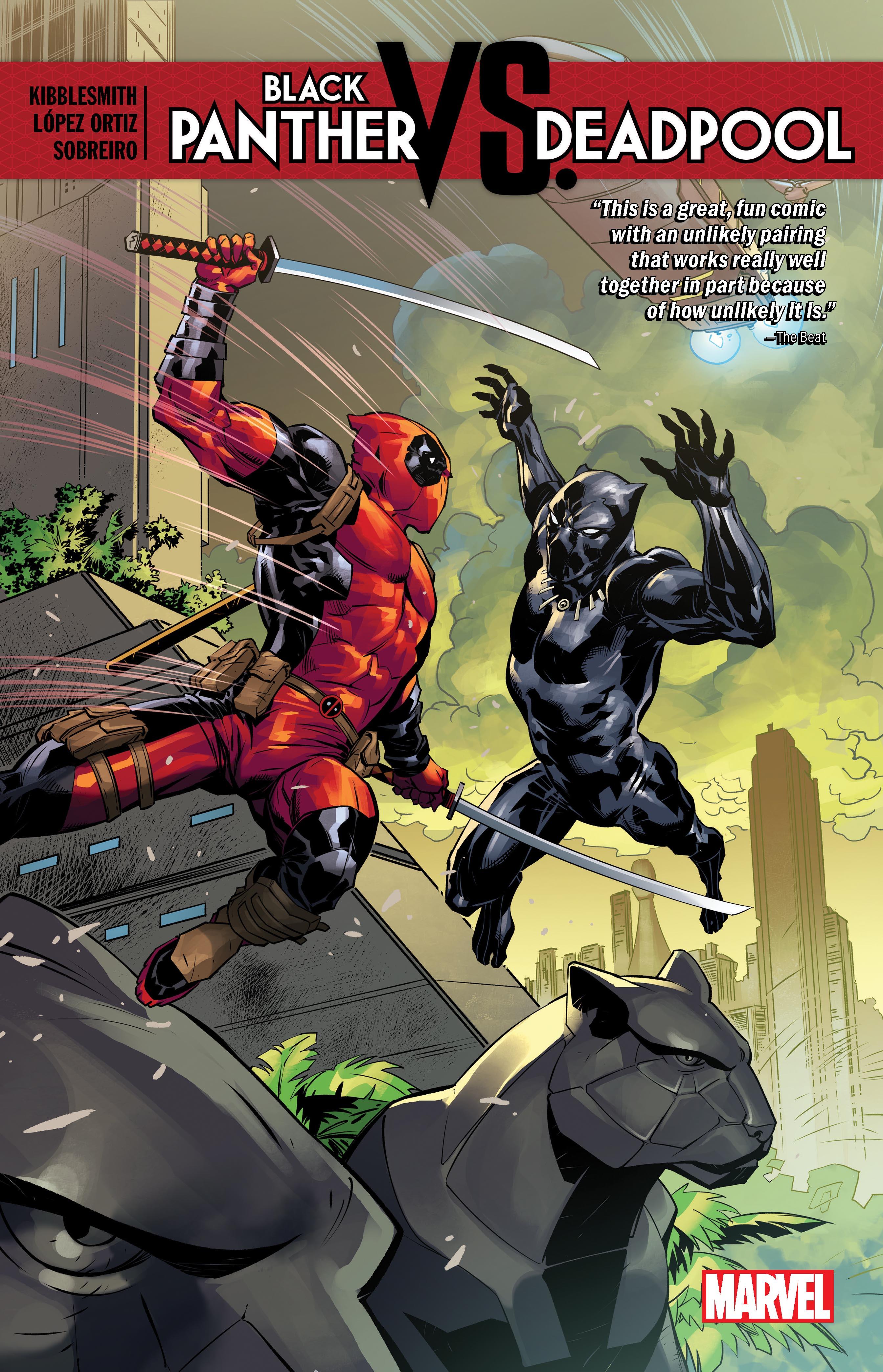 Black Panther Vs. Deadpool (Trade Paperback)