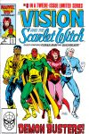 VISION AND THE SCARLET WITCH (1985) #8