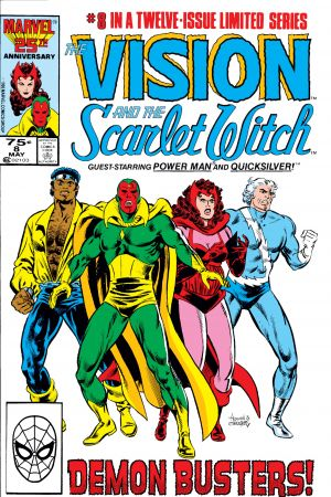 Vision and the Scarlet Witch #8