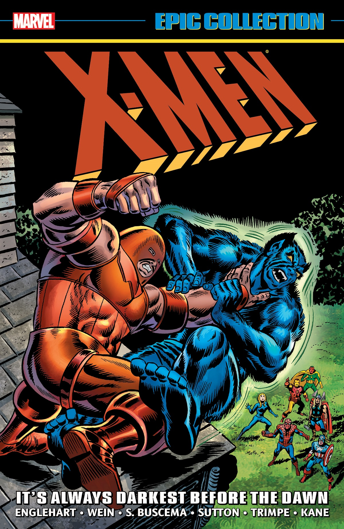 X-Men Epic Collection: It's Always Darkest Before The Dawn (Trade Paperback)