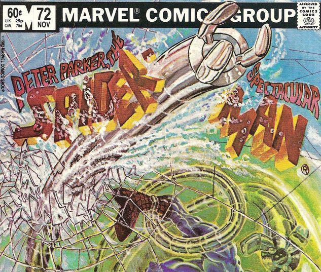 Peter Parker, the Spectacular Spider-Man #72