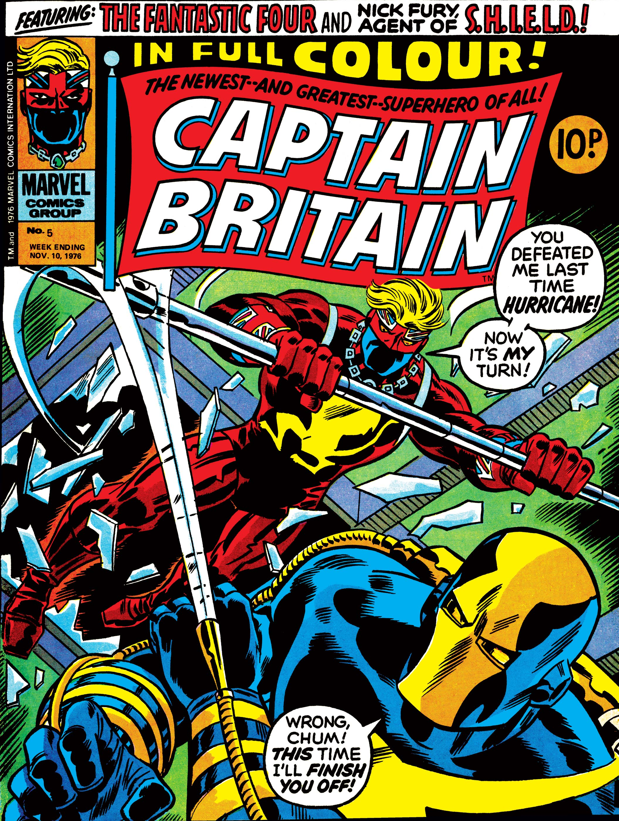 Captain Britain (1976) #5
