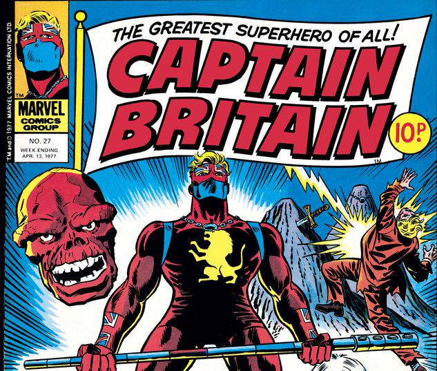 Captain Britain #27