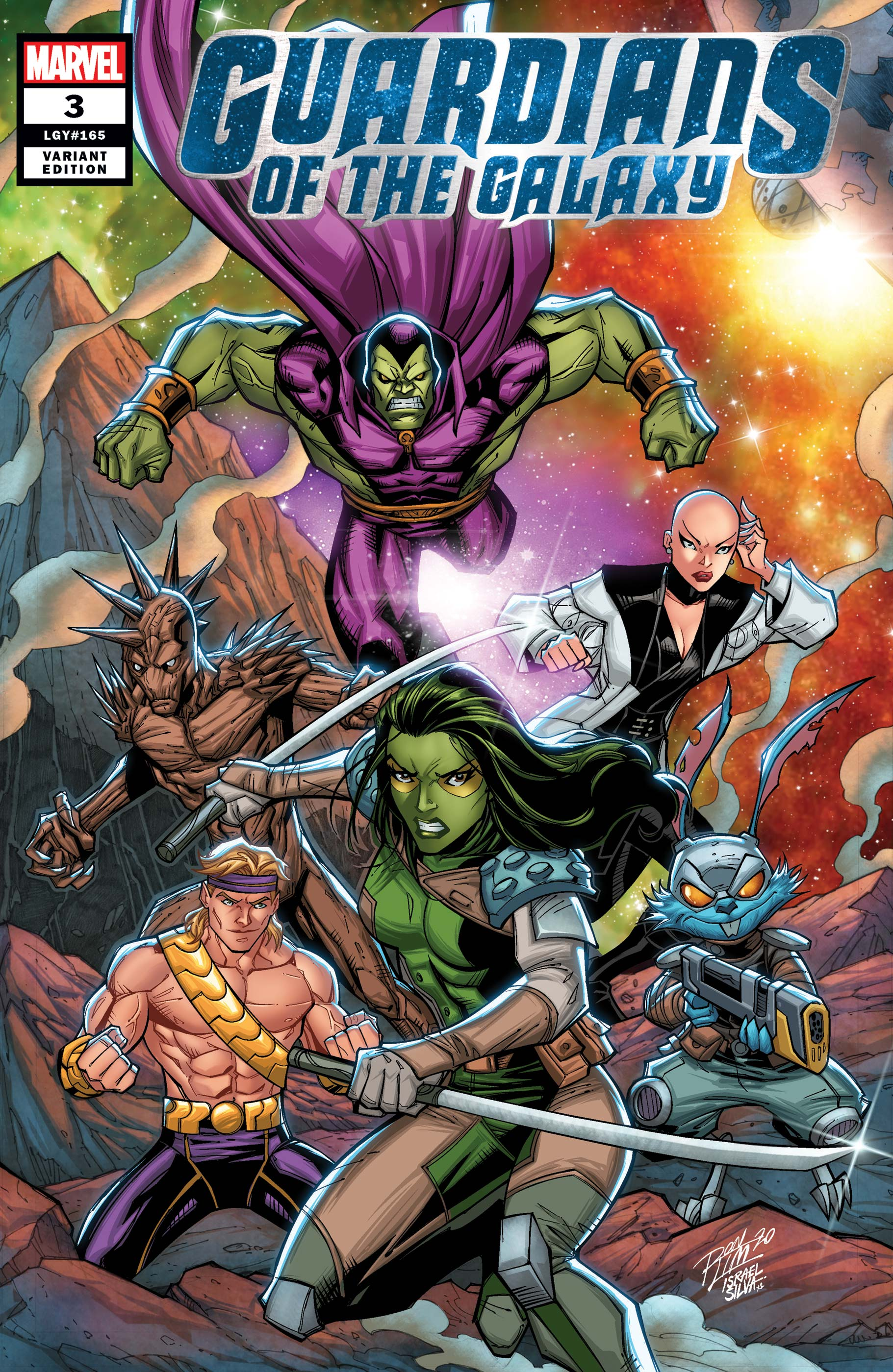 Guardians of the Galaxy (2020) #3 (Variant)