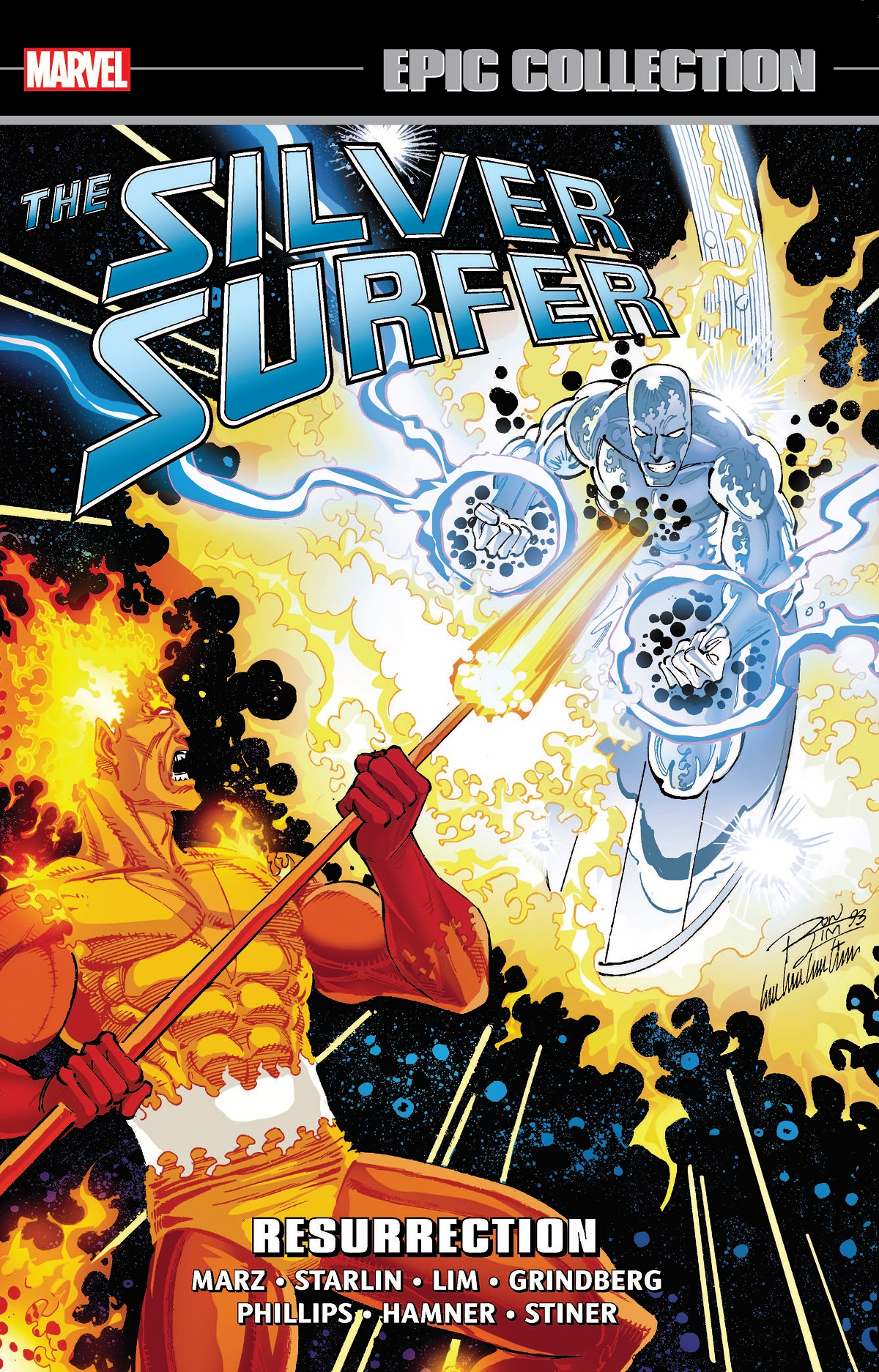 Silver Surfer Epic Collection: Resurrection (Trade Paperback)