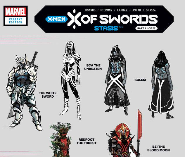 X OF SWORDS: STASIS 1 LARRAZ DESIGN VARIANT #1