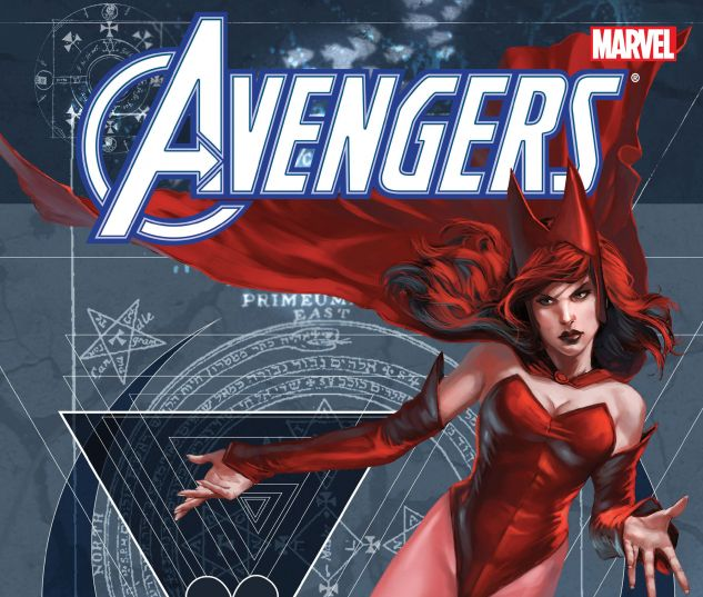 cover from Avengers: Scarlet Witch by Dan Abnett & Andy Lanning (2015)
