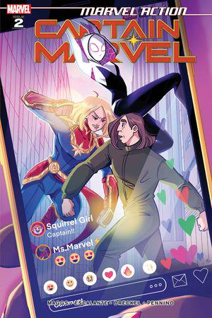 Marvel Action Captain Marvel (2021) #2