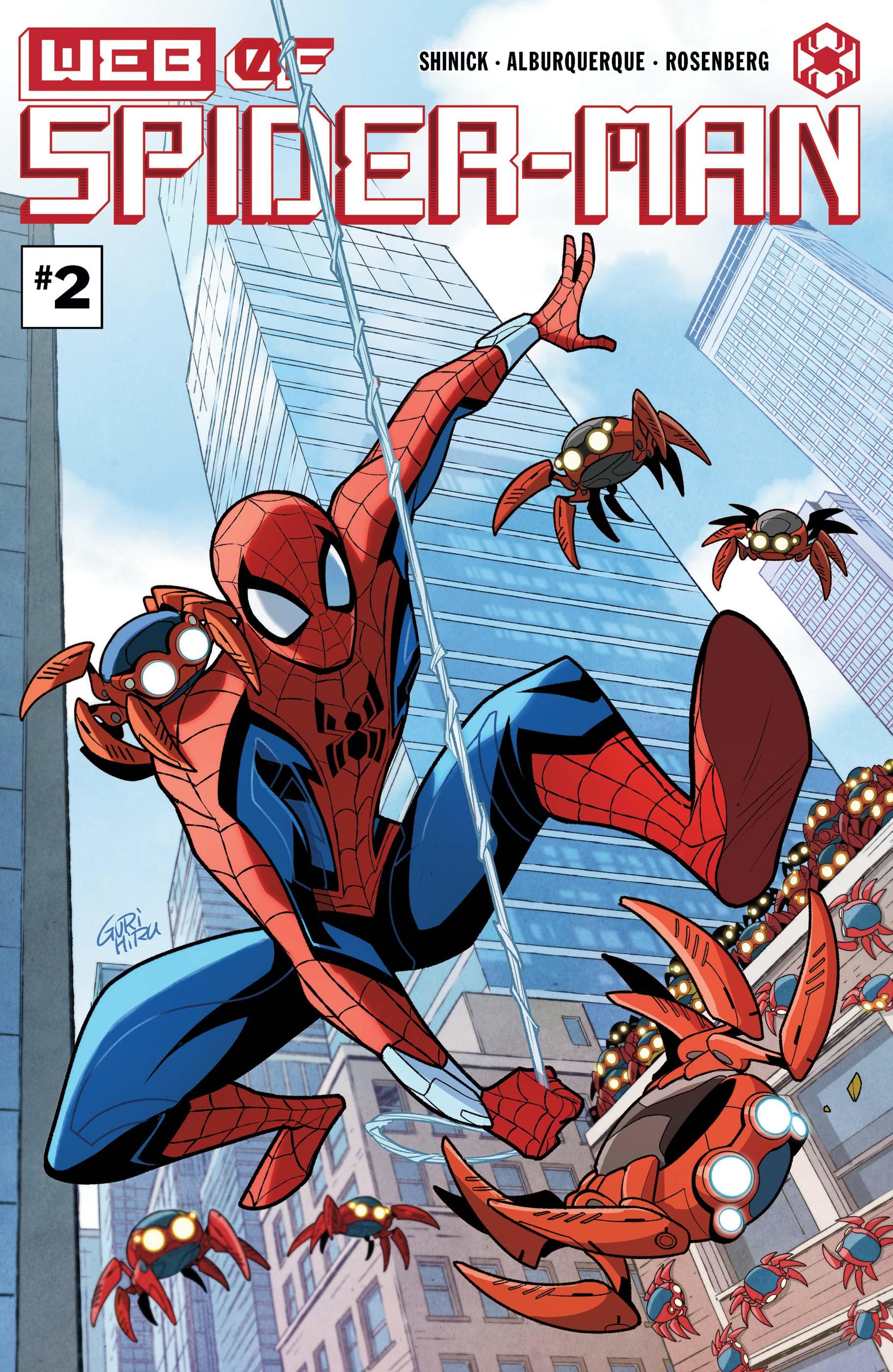W.E.B. of Spider-Man (2021) #2