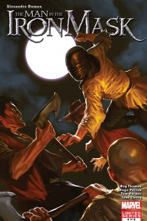 Marvel Illustrated: The Man in the Iron Mask #4