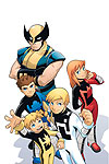 X-MEN AND POWER PACK (2007) #1 COVER