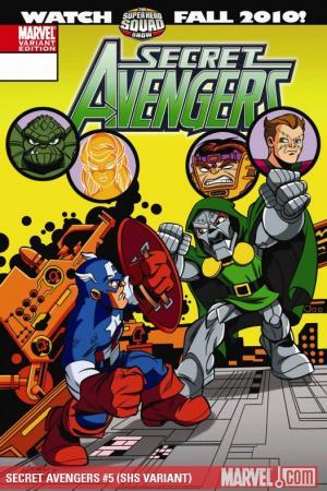 Secret Avengers #5  (SHS VARIANT)