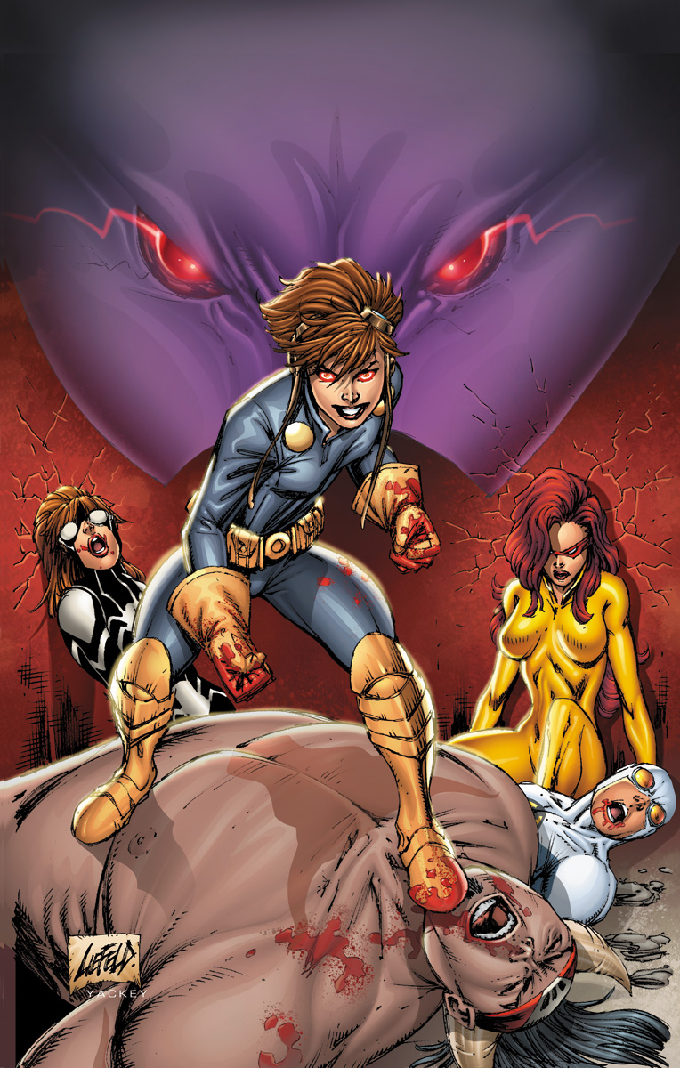 Onslaught Unleashed (2010) #1 (LIEFELD VARIANT A)