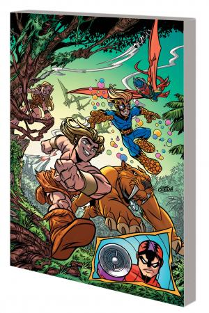 SUPER HERO SQUAD: SUPER HERO SAFARI GN-TPB (Trade Paperback)