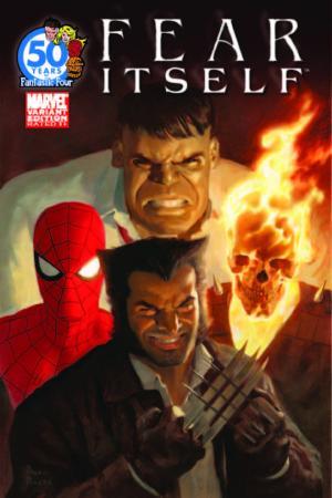 Fear Itself (2010) #1 (Ff 50th Anniversary Variant)