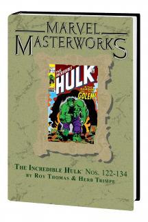 Marvel Masterworks: The Incredible Hulk (Hardcover)