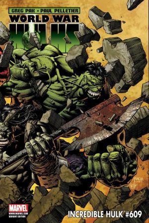 Incredible Hulks #609  (VARIANT)