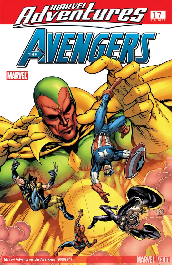Marvel Adventures the Avengers (2006) #17