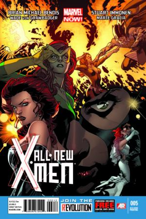 All-New X-Men (2012) #5 (2nd Printing Variant)