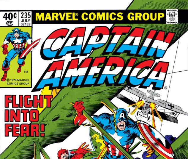 Captain America (1968) #235 Cover