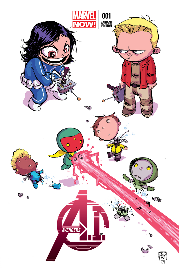 Avengers A.I. (2013) #1 (Young Variant)