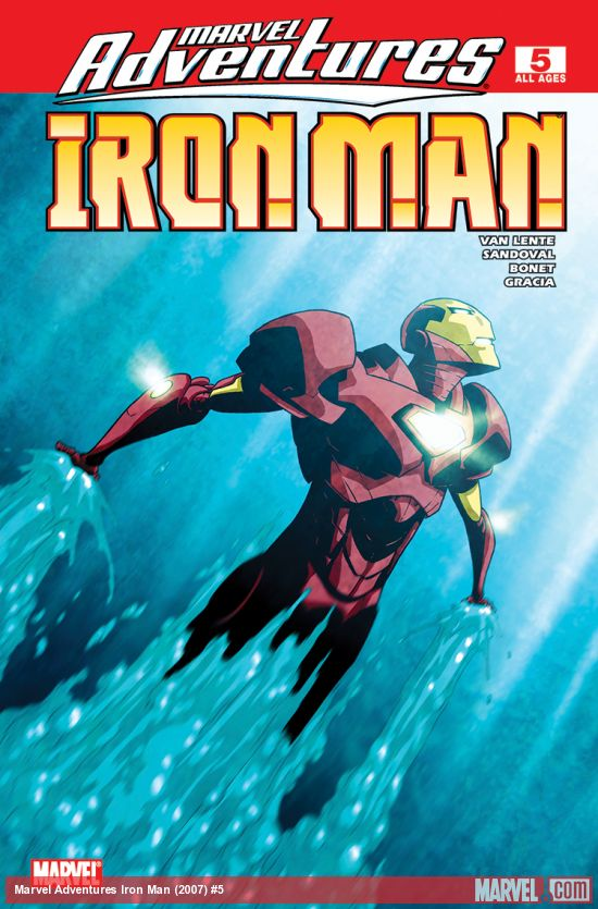Marvel Adventures Iron Man (2007) #5
