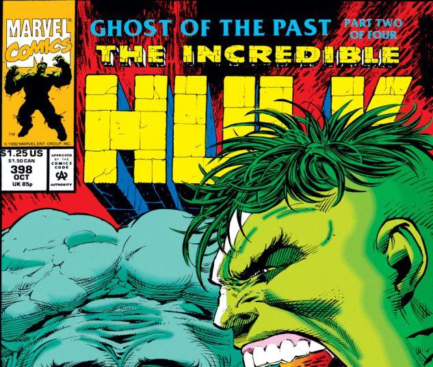 Incredible Hulk (1962) #398 Cover