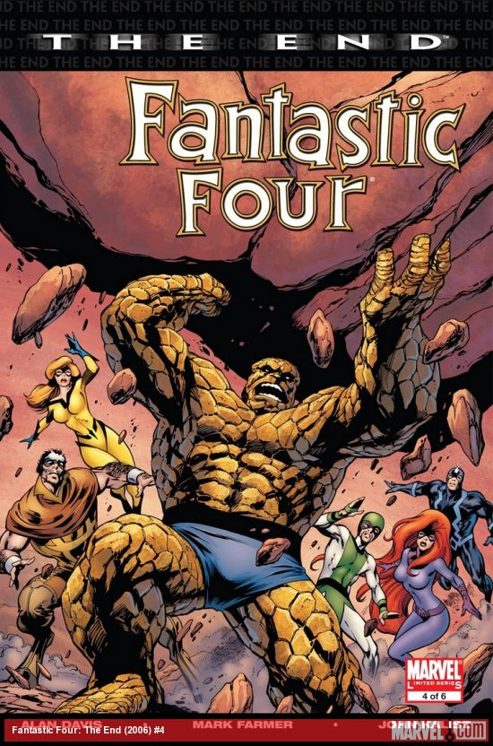 Fantastic Four: The End (2006) #4