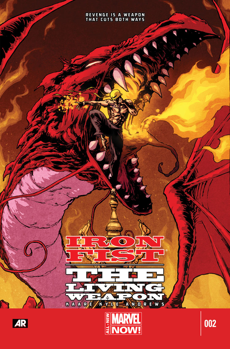 Iron Fist: The Living Weapon (2014) #2