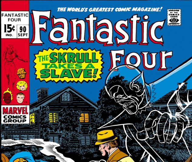 Fantastic Four (1961) #90 Cover