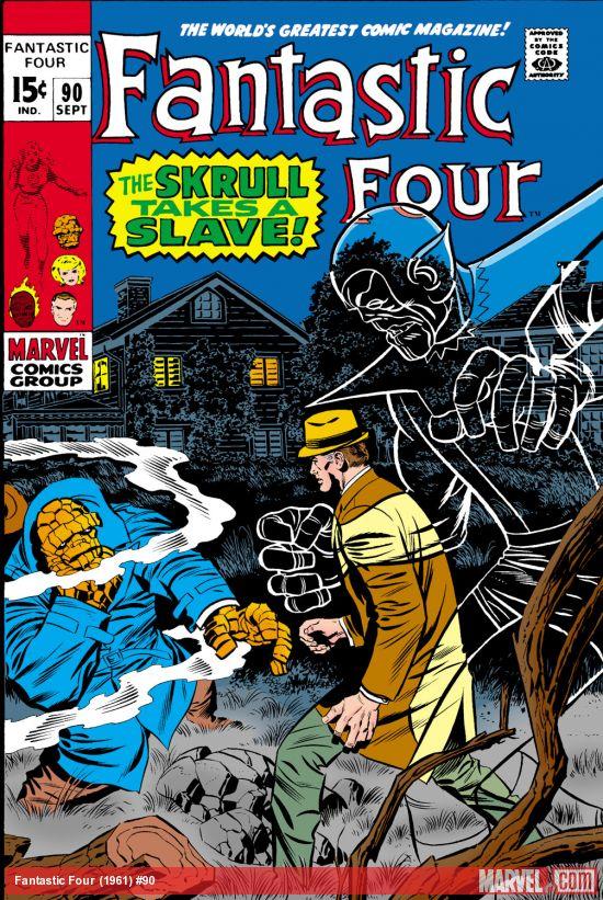Fantastic Four (1961) #90