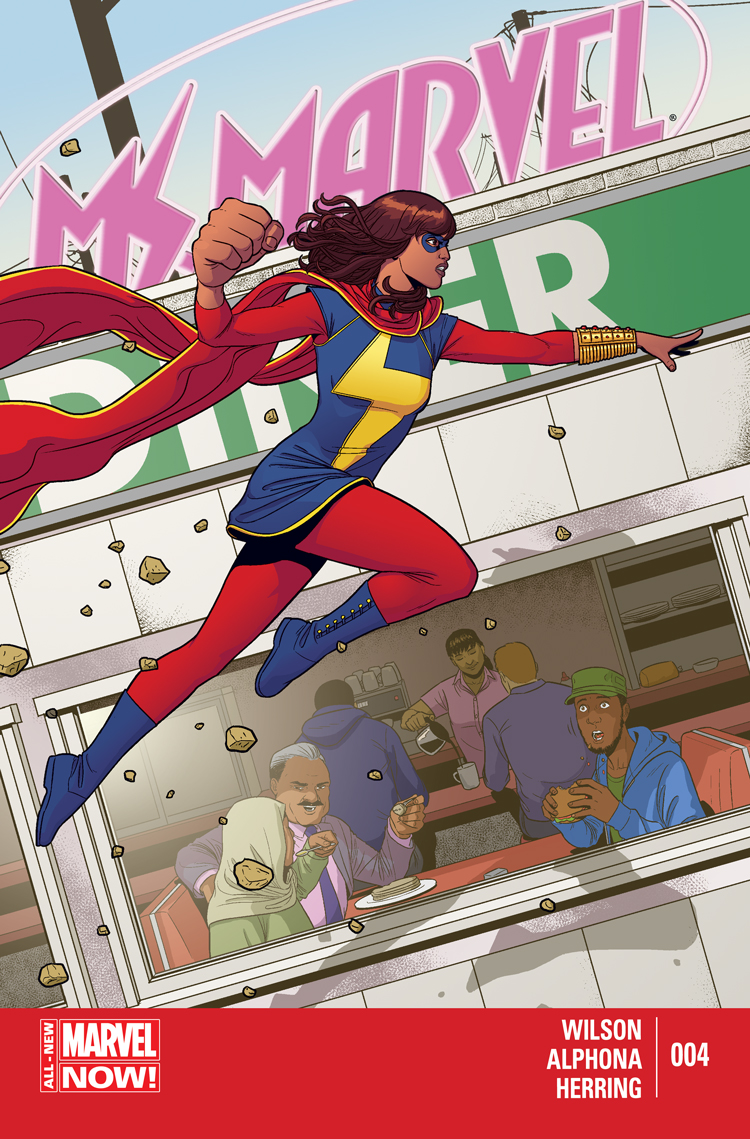 Ms. Marvel (2014) #4